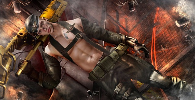 Steampunk Soldier