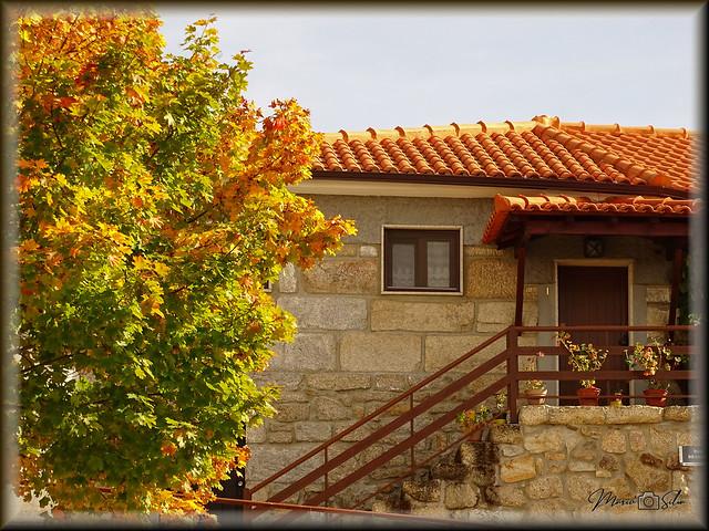 Uma bonita casa, restaurada, respeitando a sua traça original