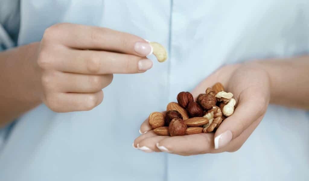 Aucune association entre les noix et le gain de poids