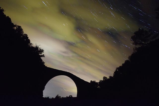 Pont de Llierca Startrails
