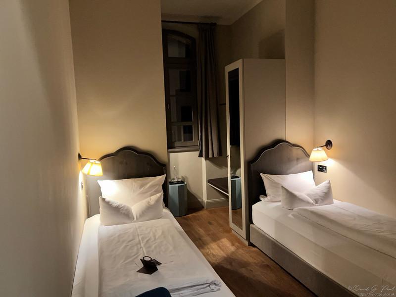 Hotel room in Monbijou hotel