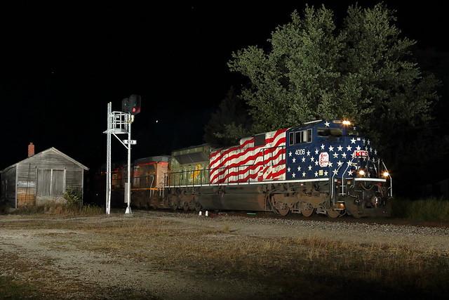 KCS 4006 east in Genoa, Illinois on September 26, 2021.