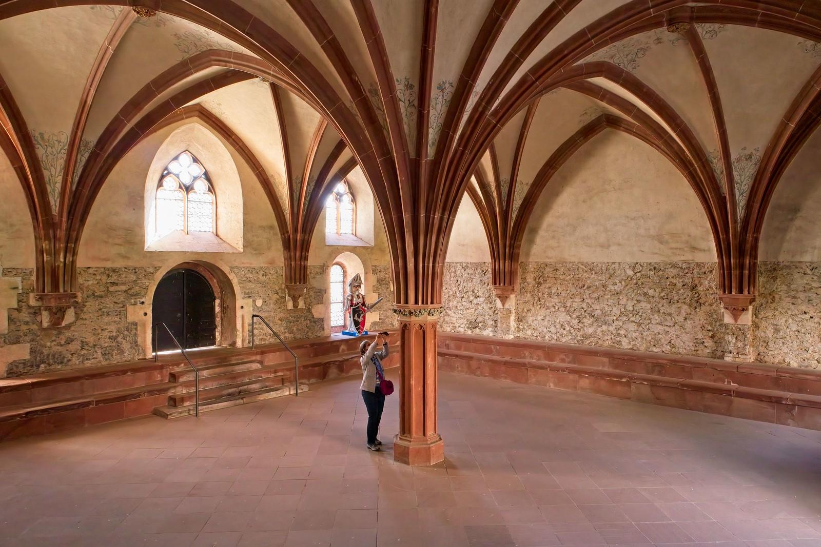 Kapitelsaal (Versammlungsstätte der klösterlichen Gemeinschaft), Kloster Eberbach