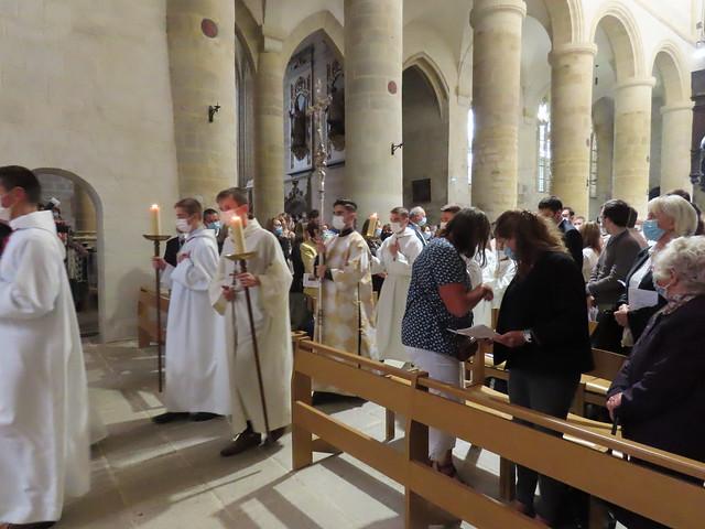Ordinations diaonales en vue du ministère sacerdotal