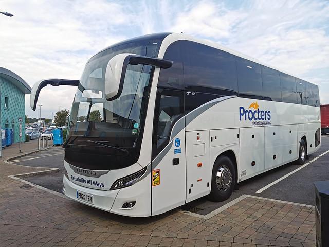Procters PR20 TER, M25 Cobham Services