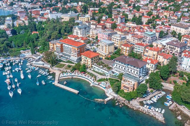 Opatija, Kvarner coast, Adriatic sea, Primorje-Gorski Kotar, Croatia