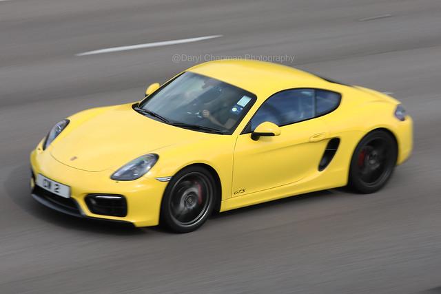 Porsche, Cayman GTS, Tolo Highway, Hong Kong