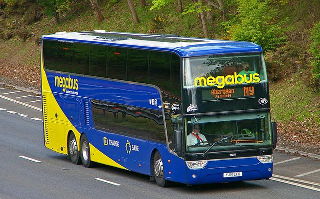 VanHool TDX 927 Astromega - megabus Stagecoach Cumbernauld