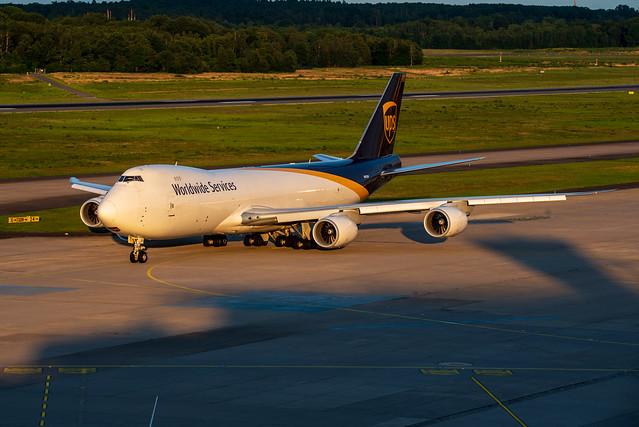 United Parcel Service (UPS) Boeing 747-8F N611UP