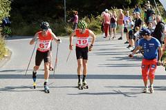 Při tvrdém výjezdu na Ještěd si pro české tituly v běhu na kolečkových lyžích vystoupali Šrail s Razýmovou