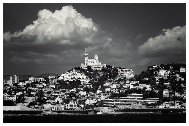 Roucas-Blanc et Notre-Dame de la Garde …
