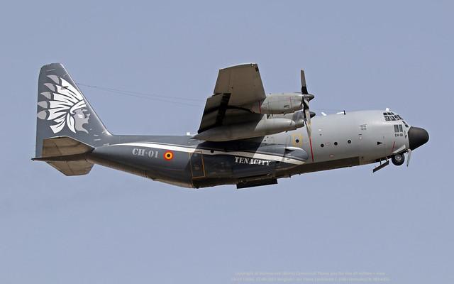 CH-01 LMML 27-09-2021 Belgium - Air Force Lockheed C-130H HerculesCN 382-4455