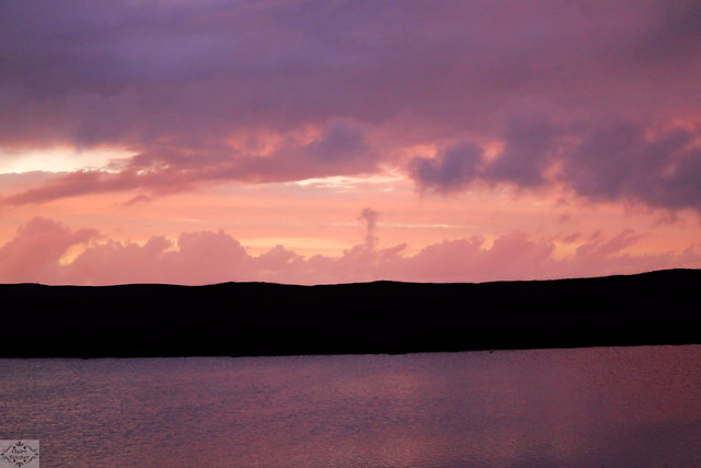 South Uist, stormy sunset