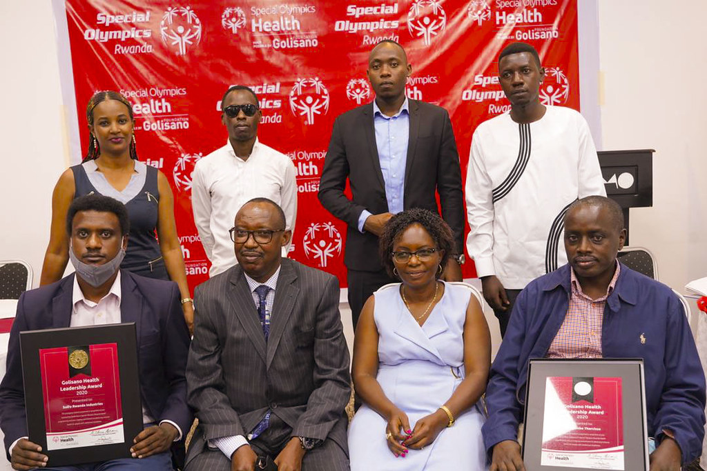 Special Olympics Rwanda held the second event of Golisano Health Leadership Awards. The awards recognize contributions from partners towards the development of Inclusive Health i ( (6)