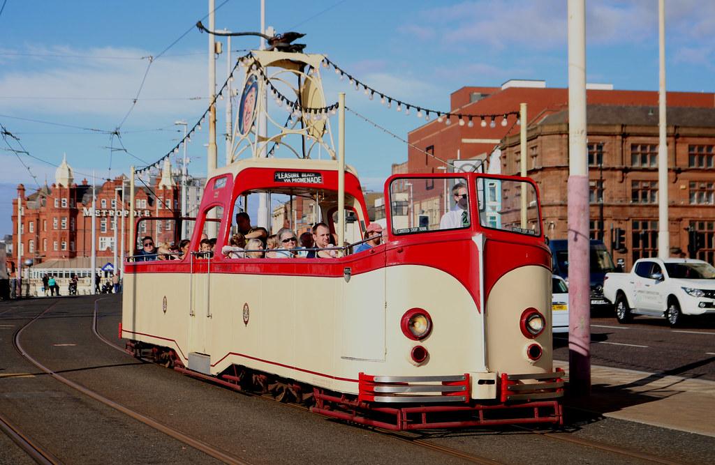 Trams: Blackpool Transport: 227 North Pier