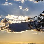 10. September 2007 - 18:32 - Покровом серебристым облака Чуть затянули солнце, но не в силах Смягчить его лучей. /У. Вордсворт/.