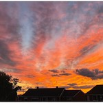27. September 2021 - 20:17 - Lovely colour on this sunset, caught quite by surprise with this one