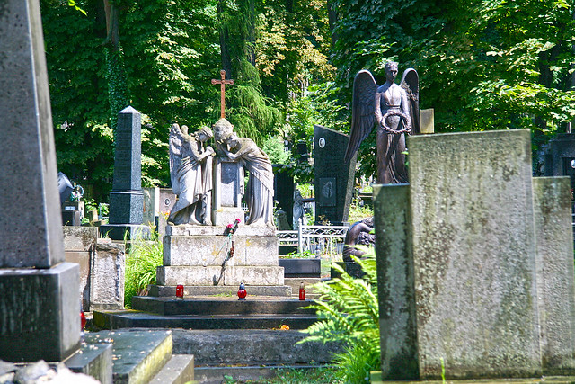 in Lychakiv Cemetery