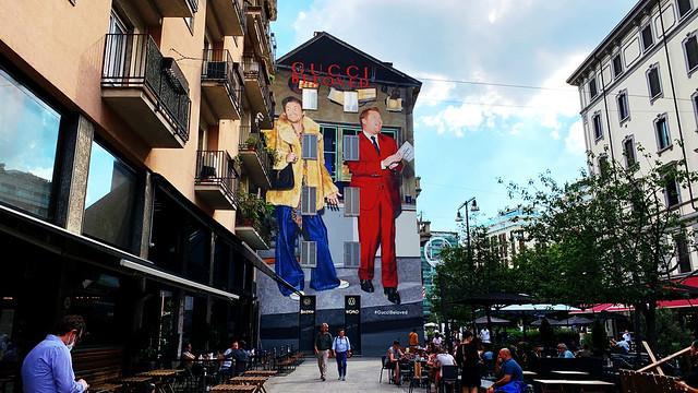 Gucci Art Wall.