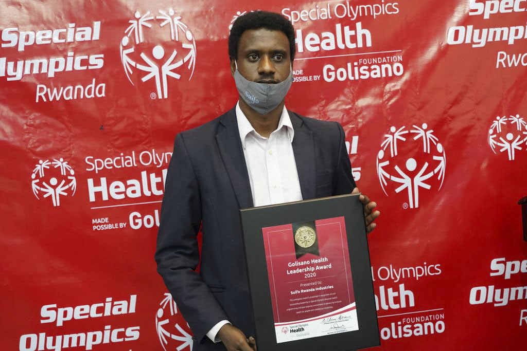 Special Olympics Rwanda held the second event of Golisano Health Leadership Awards. The awards recognize contributions from partners towards the development of Inclusive Health i ( (20)