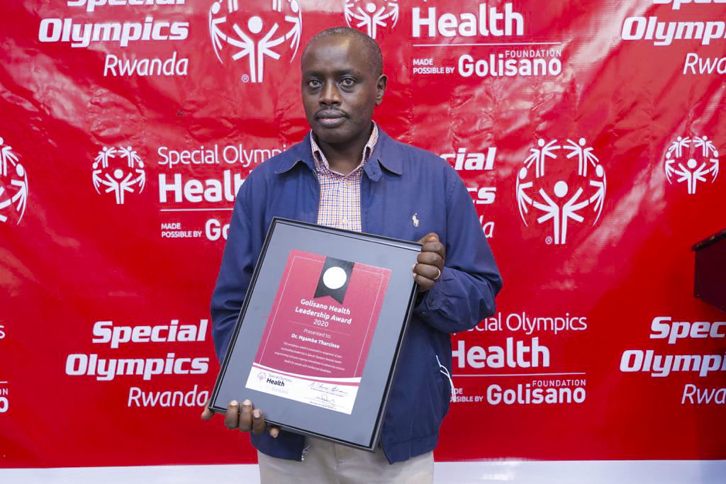 _Special Olympics Rwanda held the second event of Golisano Health Leadership Awards. The awards recognize contributions from partners towards the development of Inclusive Health i (1)