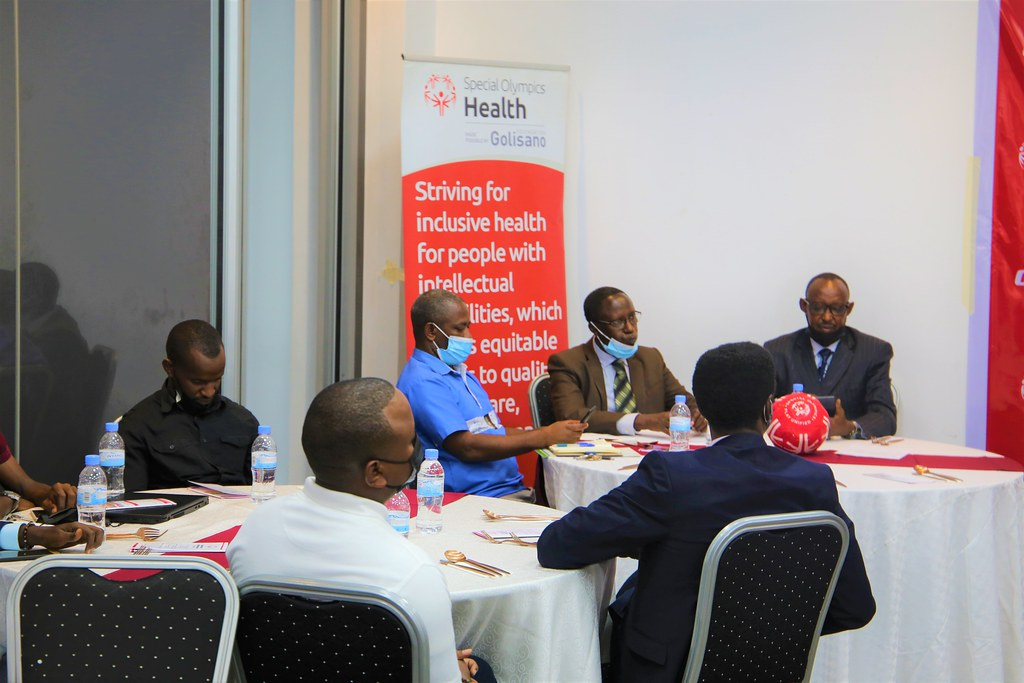 Special Olympics Rwanda held the second event of Golisano Health Leadership Awards. The awards recognize contributions from partners towards the development of Inclusive Health i ( (9)