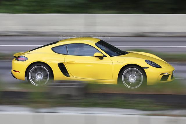 Porsche, 718 Cayman, Tolo Highway, Hong Kong