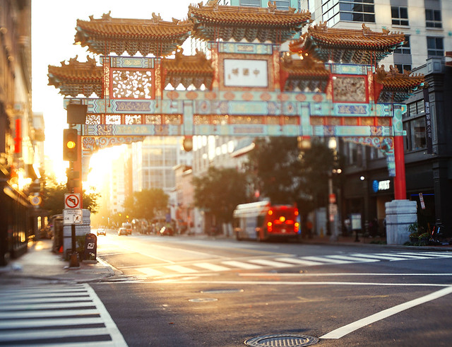 Morning in Chinatown
