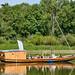La toue sablière « Le Baroudeur » (12 m de long)
