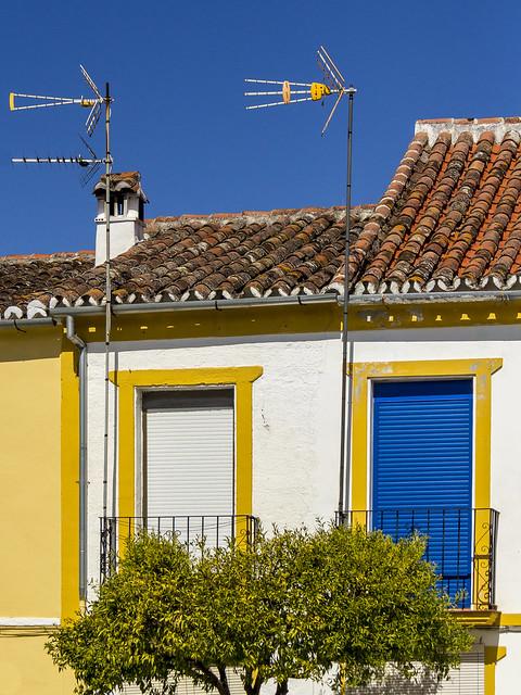 Spain - Malaga - Farajan - Balconies