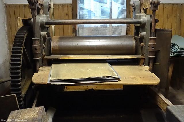 Papiermühle Glätten