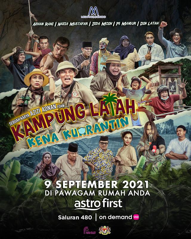 Tahniah! Filem Kampung Latah Kena Kuarantin Raih Kutipan Melebihi Rm1 Juta