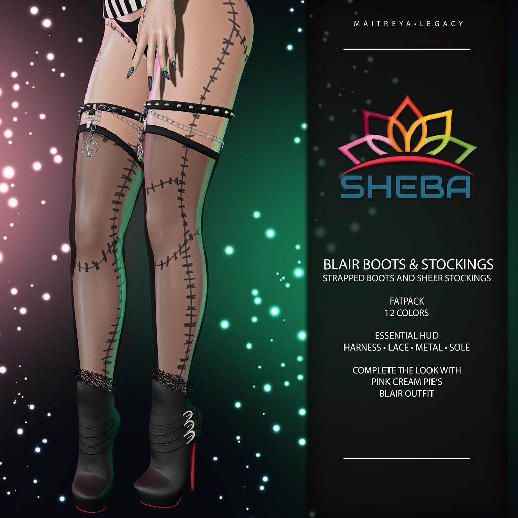Giveaway Alert ~ Blair Boots @ LEVEL October 1st