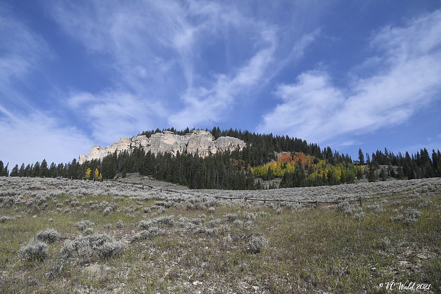 Fall has arrived in the Bighorns
