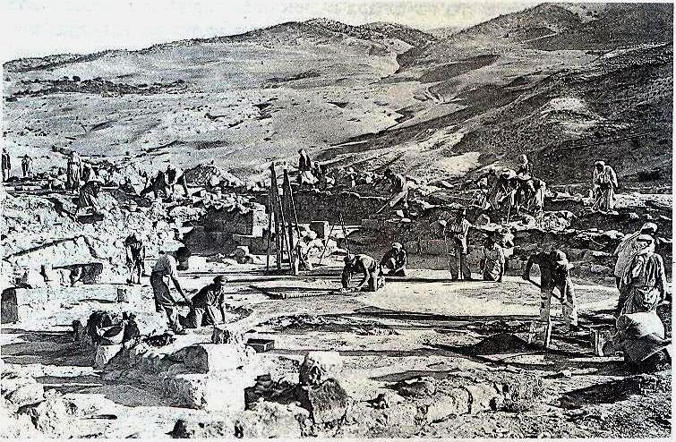 Hamat-Gader-synagogue-excavations-1932-ebc-1