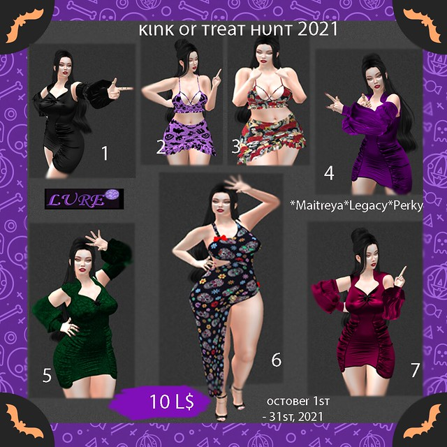 poster Kink or Treat Hunt 2021 Key Template
