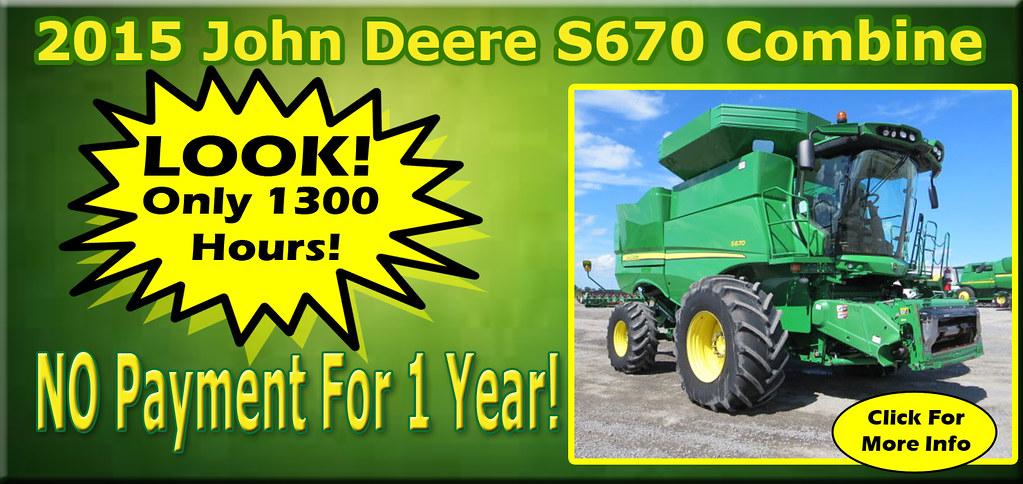 Used John Deere Combine For Sale