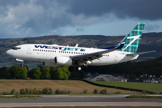 C-GQWJ WestJet - Boeing 737-7CT