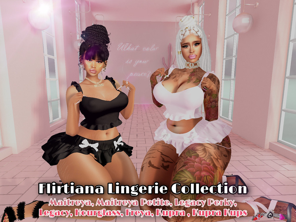 Flirtiana Lingerie Collection @ The Heat Event