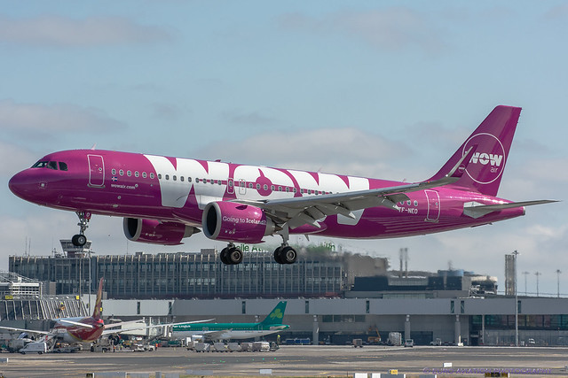 TF-NEO Wow Air - Airbus A320-251N