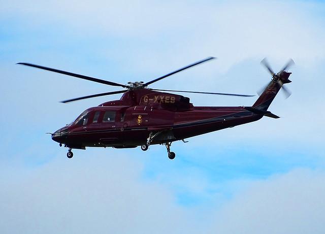 G-XXEB Sikorsky S76 of the Queens Flight