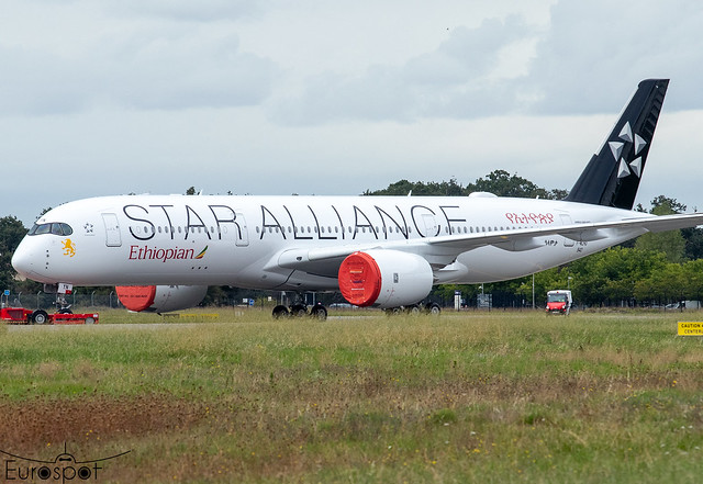 F-WZHD / ET-AYN Airbus A350-941 Ethiopian s/n 542 * Toulouse Blagnac 2021 *