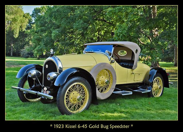 1923 Kissel 6-45 Gold Bug Speedster