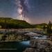 The Milky Way at Elbow Falls