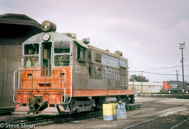 SP 2355 at San Jose Roundhouse