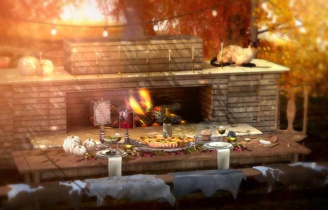 ...Warm Autumn Dining...
