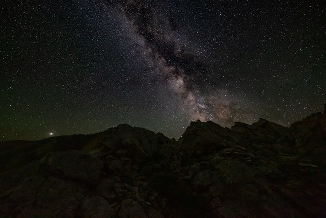 Night at Yellowstone National Park