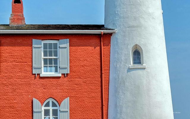 Fisgard lighthouse detail