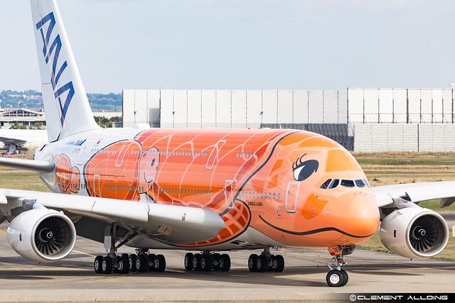 All Nippon Airways ANA Airbus A380-841 cn 266 F-WWAL // JA383A