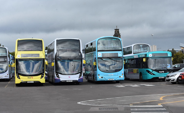 First Glasgow Caledonia Depot line up